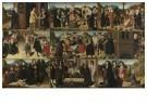 Meester van de Levensbron  -  De zeven werken van Barmhartigheid, ca. 1510 - Postcard -  A12007-1