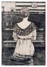 Paul Schultze (1893-1974)  -  Mies Elout achter de piano, z.j. - Postcard -  A12097-1
