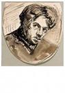 Theo van Doesburg (1883-1931)  -  Zelfportret, 1905 - Postcard -  A121200-1
