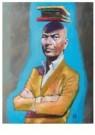 Siegfried Woldhek (1951)  -  Tommy Wieringa - Postcard -  A12229-1