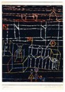 Paul Klee (1879-1940)  -  Children before a City, 1928 - Postcard -  A122808-1