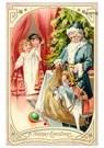 A.N.B.  -  Kinderen komen de kamer binnen en zien de kerstman - Postcard -  A123610-1