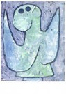 Paul Klee(1879-1940)  -  Listening Angel, 1939 - Postcard -  A124637-1
