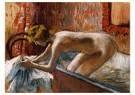 Edgar Degas(1834-1917)  -  Woman Leaving Her Bath - Postcard -  A13912-1