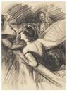 Giovanni Boldini(1842-1931)  -  Deux Femmes Dans Une Loge De Théâtre, Un Homme À L'Arrière-P - Postcard -  A15575-1
