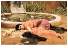 John William Godward 1861-1922 -  Dolce Far Niente (Sweet Nothings) - Postcard -  A15599-1