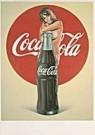 Mel Ramos (1935-2018)  -  Coca-cola - Postcard -  A1562-1