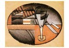 Juan Gris(1887-1927)  -  The Packet Of Cigars - Postcard -  A15738-1