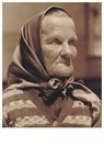 Lewis Hine(1874-1940)  -  Czech Grandmother At Ellis Island - Postcard -  A16763-1