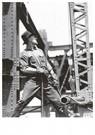 Lewis Hine(1874-1940)  -  Derrick Man, Empire State Building - Postcard -  A16764-1