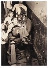 Lewis Hine(1874-1940)  -  Fireman Rescuing Boy - Postcard -  A16782-1