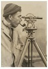 Lewis Hine(1874-1940)  -  Surveyor The Empire State Building - Postcard -  A16784-1