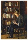 Edvard Munch(1863-1944)  -  Andreas Reading - Postcard -  A17305-1