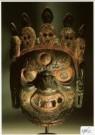 Anoniem,  -  Dansmasker, Tibet - Postcard -  A1762-1