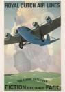 Jan Wijga (1902-1978)  -  Royal Dutch Air Lines - Postcard -  A1816-1