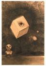 Odilon Redon(1840-1916)  -  Oeil - Postcard -  A18504-1