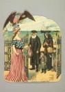 -  poëziepl/ Emigratie/  J.H.M - Postcard -  A1882-1