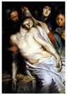 Peter Paul Rubens(1577-1640)  -  Lamentation (Christ On The Straw) - Postcard -  A18865-1