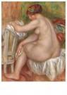 Auguste Renoir (1841-1919)  -  Femme Nue À Sa Toilette Or Femme S'Essuyant - Postcard -  A18909-1