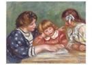 Auguste Renoir (1841-1919)  -  La Leçon (Bielle, L'Institutrice Et Claude Renoir Lisant) - Postcard -  A19361-1