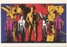 Gilbert & George  -  Naked Faith - Postcard -  A1985-1