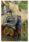 Camille Pissarro (1830-1903)  -  Pumpkin Merchant, 1883 - Postcard -  A19957-1