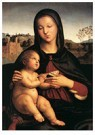 Raphaël Sanzio (1483-1520)  -  Madonna And Child - Postcard -  A20003-1