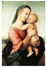 Raphaël Sanzio (1483-1520)  -  Madonna And Child (The Tempi Madonna) - Postcard -  A20004-1