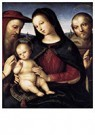 Raphaël Sanzio (1483-1520)  -  Madonna With Child And Saints - Postcard -  A20007-1