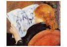 Auguste Renoir (1841-1919)  -  Young Woman Reading An Illustrated Journal - Postcard -  A20023-1