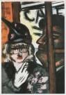 Max Beckmann (1884-1950)  -  Artiestentencafe - Postcard -  A2066-1