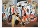 Arshile  Gorky (1904-1948)  -  The Liver is the Cock's Comb - Postcard -  A2093-1