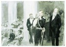 Ilya Repin (1844-1930)  -  The Concert In The Assembly Of Nobility,1888 - Postcard -  A21039-1