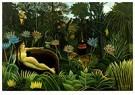 Henri Rousseau(1844-1910)  -  Dream - Postcard -  A21173-1