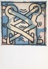 Keith Haring (1858-1990)  -  Untitled - Postcard -  A2154-1