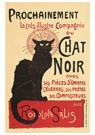 Théophile Steinlen(1859-1923)  -  Soon The Illustrious Company Of Black Cat With Shadow Pieces - Postcard -  A22150-1