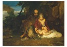 William Turner(1775-1851)  -  The Holy Family - Postcard -  A22362-1