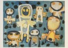 Karel Appel (1921-2006)  -  Appel/Vragende kinderen/Br/Krh - Postcard -  A2382-1