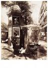 Eugène Atget (1857-1927)  -  `Kiosque A Fleurs' - Postcard -  A24138-1