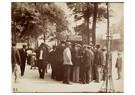 Eugène Atget (1857-1927)  -  'Montmartre Place Du Tertre', 1924 - Postcard -  A24153-1