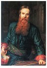William Holman Hunt (1827-1910 -  Self Portrait, 1867 - Postcard -  A25794-1