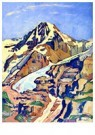 Ferdinand Hodler (1853-1918)  -  The Mönch at Noon, 1911 - Postcard -  A26909-1