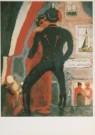 Kees van Dongen (1877-1968)  -  de Huzaar, Le Hussard, (Liverpool Light House), ca - Postcard -  A3007-1