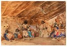 Konstantin Makovsky (1839-1915 -  Tribal Dancers - Postcard -  A31223-1