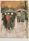 Vincent van Gogh (1853-1890)  -  Dans la pluie - Postcard -  A3128-1