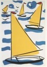 Thom Slaughter (1955-2014)  -  Boats - Postcard -  A3139-1