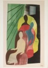 Hendrik Nic.Werkman (1882-1945 -  Premie boekenvrienden uitgevoerd naar ontwerp 5: ' - Postcard -  A3340-1