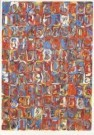 Jasper Johns (1930)  -  Numbers in color - Postcard -  A3568-1