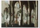 Daniel de Blieck (1600-1673)  -  D.de Blieck/Kerkinterieur/BvB - Postcard -  A3623-1