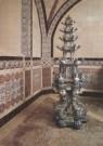 -  Grote Bloemenpagode van Delfts aardewerk in melkke - Postcard -  A3634-1